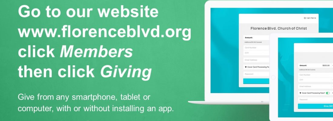 Click here for how to give